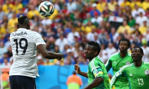 France score against Nigeria