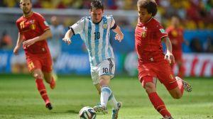 Messi vs Belgium