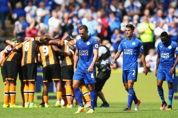 Hull 2-1 Leicester