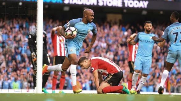 Manchester City 2-1 Sunderland