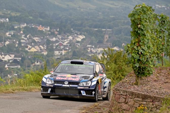 Jari-Matti Latvala (FIN), Miikka Anttila (FIN)Volkswagen Polo R WRC (2016)WRC Rally Germany 2016