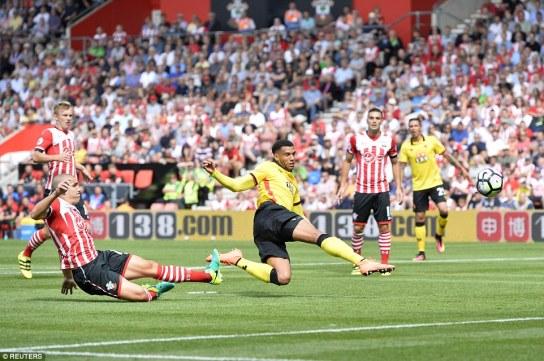 Southampton 1 Watford 1