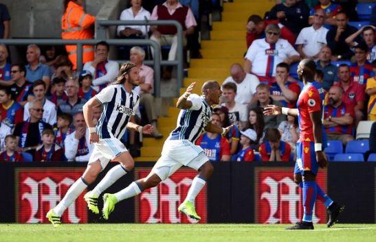 West Bromwich Crystal Palace