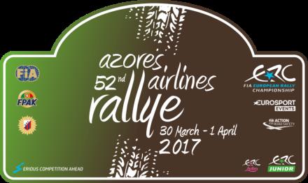 Azores Rallye 2017 logo